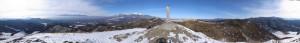 飯盛山 パノラマ写真